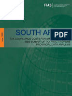 IFC South Africa Tax Compliance Costs 2008