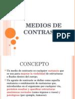 Radiodiagnostico Medios de Contraste