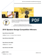 Speaker Design Competition.ps