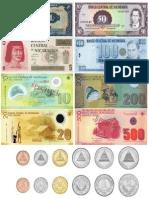 Monedas de Nicaragua