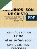 Los Niños Son de Cristo...