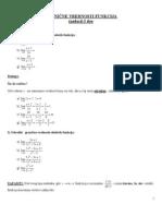 Granicne Vrednosti Funkcija I Deo