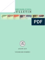 Rbi Bulletin August 2015