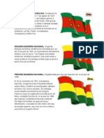 Las Tres Banderas de Bolivia