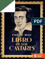 Libro de Los Cantares - Heinrich Heine