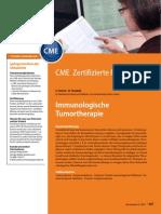 Imunologische Tumortherapie