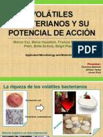 Volátiles Bacterianos y Su Potencial de Acción