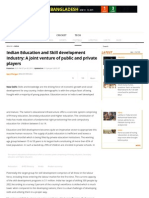 Indian Education and Skill Development Industry