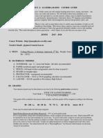 jones - course guide - ap physics 2 - 2015-2016