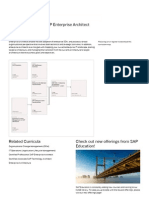 Curriculum _ Certified Associate SAP Enterprise Architect