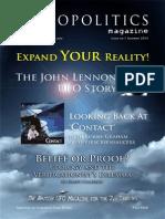 Exopolitics Magazine Edition 1 by British Exopolitics Expo