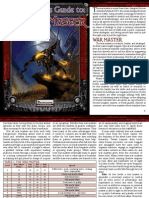 Pathfinder Compatible - The Genius Guide to - The War Master