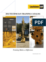 2014 Technician Training Catalog
