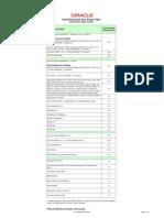 Processor Core Factor Table 070634