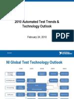 Tendenze e prospettive tecnologiche nel test automatizzato