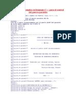 Programas Ejemplos en Lenguaje C