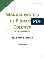 Manual Processo Coletivo