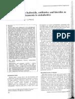 Antimicrobial Medicaments in Endodontics