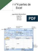 Taller n°4 partes de Excel jorge antonio martinez 8°a
