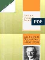2- Freud e a Criação Da Psicanálise