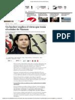 Un Hacker Explica El Virus Que Tenía El Celular de Nisman