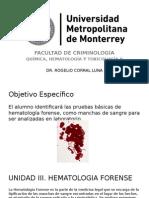 3u Quimica Hematologia y Toxicologia