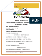 Carpeta de Evidencia Formato t.s.