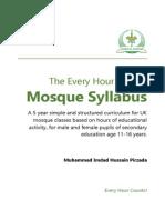 Mosque Syllabus