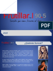 PRESENTACIÓN FRUTILLAR FM 2015-2