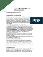Traumatismo Pélvico, Renal y Genitourinario
