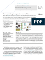 A New System Design for Supercritical Water Oxidation, Chem Eng J 2015