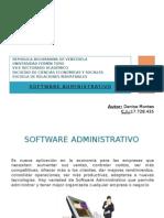 Tutorial de Software Administrativo Denise