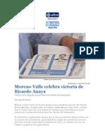 17-08-2015 Ultra Noticias - Moreno Valle Celebra Victoria de Ricardo Anaya
