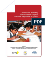 Proyecto Curricular Regional Moquegua