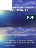1.- Relaciones Laborales e Industriales