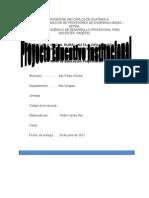 Modelo PEI . Documento Elaborado Con Fines Educativos