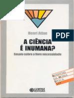 A Ciência é Inumana