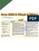 Normas GERAIS Biblioteca PVL