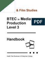 BTEC Media Handbook 2009