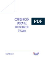 Configuracion Basica Del Dvc6000 (Auto Setup)