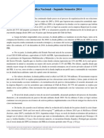 Mecon-Informe de Deuda Publica 2014