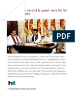 Why Election Verdict is Good News for Sri Lanka and India
