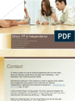 Professional Ethics & Independence - -Generic Final 2012