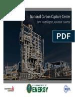 National Carbon Capture Center Overview