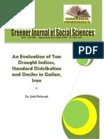 perbandingan metode desil dan metode spi dalam analisa kekeringan