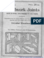 Woodwork Joints 1917, joints, wood, oldjoints,