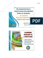 CO2SEQUESTRATIONIN PENNSYLVANIANCOAL-BEARING STRATA OF ALABAMA