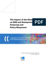 The Impact of the Global Crisis on SME and Entrepreneurship Financing and Policy Responses