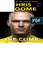 The Climb Autobiography of Chris Froome
