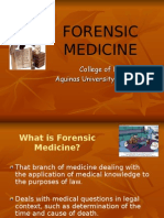 Lecture 1 Forensic Medicine-1